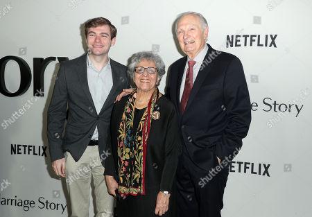 Alan Alda, Arlene Alda and guest