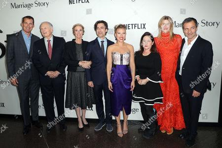 Scott Stuber, Alan Alda, Julie Hagerty, Noah Baumbach, Scarlett Johansson, Martha Kelly, Laura Dern and David Heyman