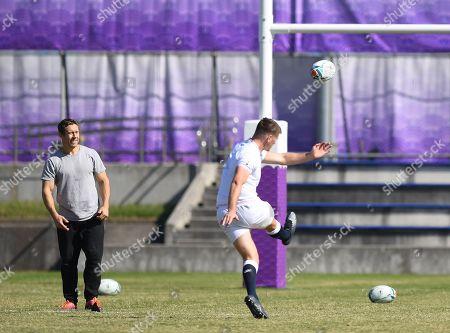 Owen Farrell and Jonny Wilkinson