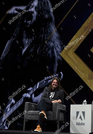 Dave Grohl, Musician and Director, discusses his childhood and teaching himself music at Adobe MAX on in Los Angeles