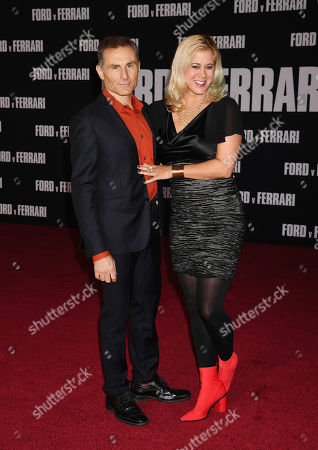 Editorial image of 'Ford v Ferrari' film premiere, Arrivals, TCL Chinese Theatre, Los Angeles, USA - 04 Nov 2019
