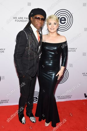 Nile Rodgers and Nancy Hunt