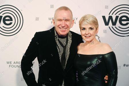 Jean Paul Gaultier and Nancy Hunt