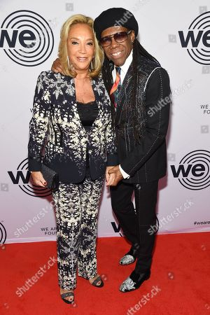 Denise Rich and Nile Rodgers