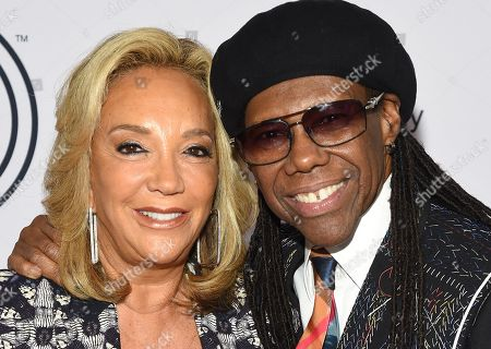 Stock Image of Denise Rich and Nile Rodgers