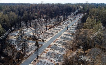 Editorial picture of Northern California Wildfire Embezzlement, Paradise, USA - 03 Dec 2018