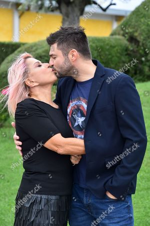 Stock Image of Anna Pettinelli and Stefano Macchi