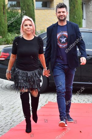 Stock Picture of Anna Pettinelli and Stefano Macchi