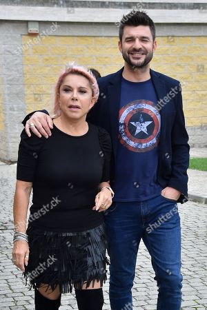 Anna Pettinelli and Stefano Macchi