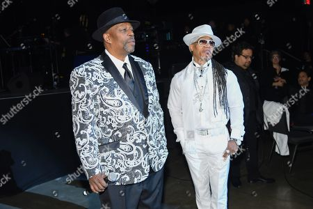 Stock Picture of Grandmaster Caz and Melle Mel