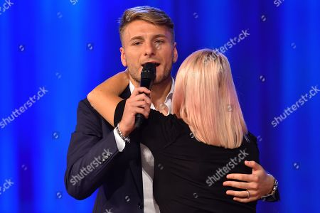 Ciro Immobile and Anna Pettinelli