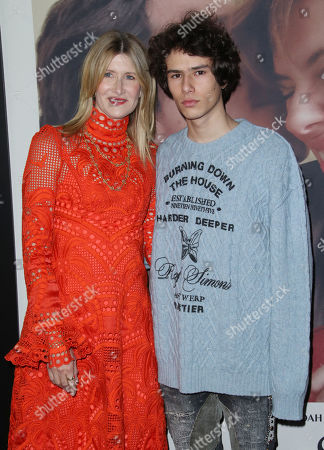 Stock Image of Laura Dern and son Ellery Harper