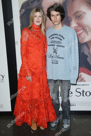 Laura Dern and son Ellery Harper