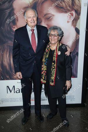 Stock Image of Alan Alda and Arlene Alda
