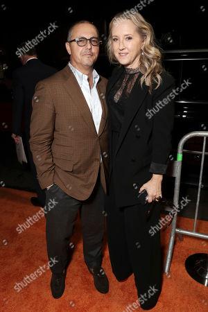 Stock Photo of Bert Salke and Jennifer Salke