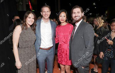 Julie Rapaport, Matt Newman, Anita Gou and Christopher Leggett
