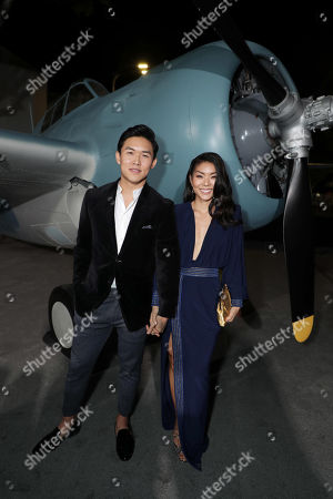 Stock Picture of Kenny Leu and Masumi attend the Lionsgate's MIDWAY World Premiere at the Regency Village Theatre in Los Angeles, CA on November 5, 2019.