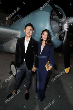 Kenny Leu and Masumi attend the Lionsgate's MIDWAY World Premiere at the Regency Village Theatre in Los Angeles, CA on November 5, 2019.