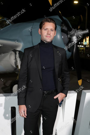 Luke Kleintank attends the Lionsgate's MIDWAY World Premiere at the Regency Village Theatre in Los Angeles, CA on November 5, 2019.