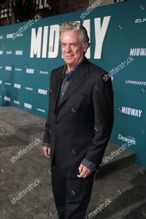 Christopher McDonald attends the Lionsgate's MIDWAY World Premiere at the Regency Village Theatre in Los Angeles, CA on November 5, 2019.