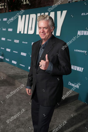 Stock Picture of Christopher McDonald attends the Lionsgate's MIDWAY World Premiere at the Regency Village Theatre in Los Angeles, CA on November 5, 2019.