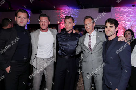 Luke Kleintank, Luke Evans, Ed Skrein, Patrick Wilson and Darren Criss attend the Lionsgate's MIDWAY World Premiere at the Regency Village Theatre in Los Angeles, CA on November 5, 2019.