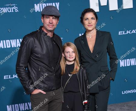 Scott Foley, Malina Jean Foley and Marika Dominczyk