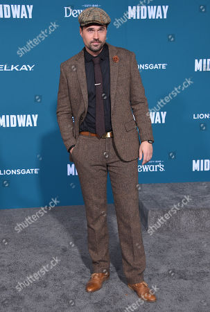 Editorial photo of 'Midway' film premiere, Arrivals, Regency Village Theatre, Los Angeles, USA - 05 Nov 2019