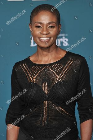 """Adina Porter attends the world premiere of """"Midway"""" at the Regency Village Theatre, in Los Angeles"""