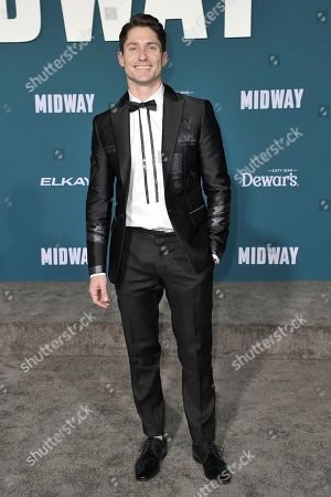 """Editorial picture of World Premiere of """"Midway"""", Los Angeles, USA - 05 Nov 2019"""