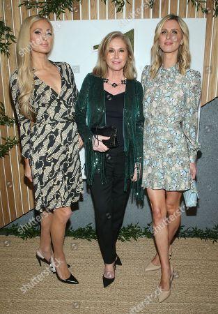 Paris Hilton, Kathy Hilton, Nicky Hilton Rothschild