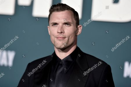 """Ed Skrein attends the world premiere of """"Midway,"""" at the Regency Village Theatre, in Los Angeles"""