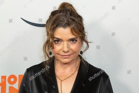 "Laura San Giacomo arrives at the LA Premiere of ""Honey Boy"" at the ArcLight Hollywood, in Los Angeles"