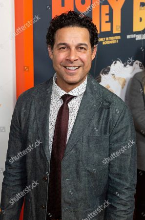 "Jon Huertas arrives at the LA Premiere of ""Honey Boy"" at the ArcLight Hollywood, in Los Angeles"