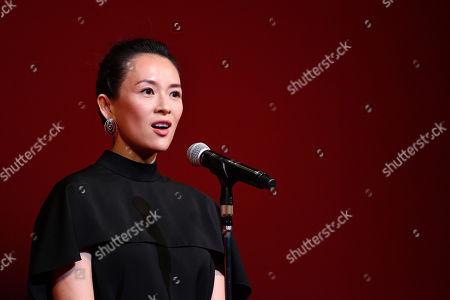 Stock Image of Zhang Ziyi