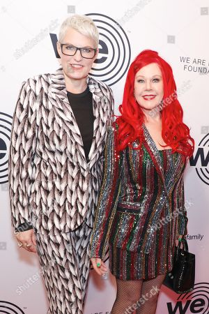 Monica Coleman and Kate Pierson