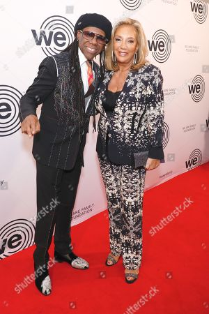 Stock Picture of Nile Rodgers and Denise Rich