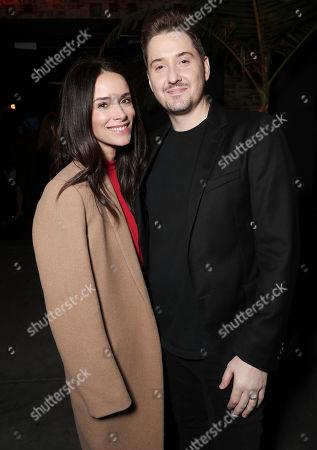 Stock Image of Abigail Spencer and Duke Johnson