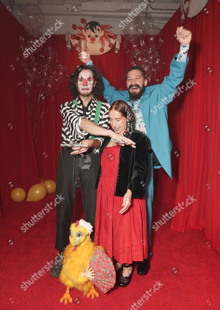 Stock Picture of Shia LaBeouf, Shayna Saide and guests