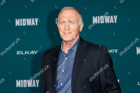 Stock Photo of Mark Rolston poses upon arriving at the 'Midway' movie premiere at the Regency Village Theatre in Westwood, Los Angeles, California, USA, 05 November 2019. The movie is to be released in US theaters on 08 November 2019.