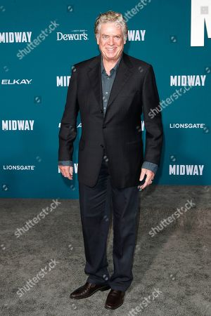 Christopher McDonald poses upon arriving at the 'Midway' movie premiere at the Regency Village Theatre in Westwood, Los Angeles, California, USA, 05 November 2019. The movie is to be released in US theaters on 08 November 2019.
