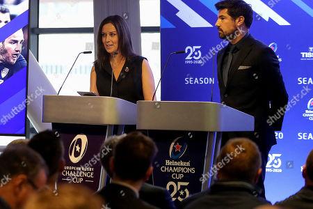 Lee McKenzie (Channel 4) and Craig Doyle (BT Sport)