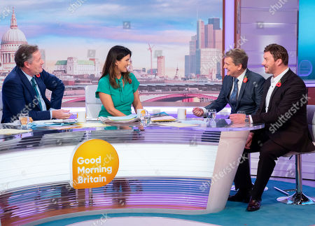 Editorial picture of 'Good Morning Britain' TV show, London, UK - 06 Nov 2019