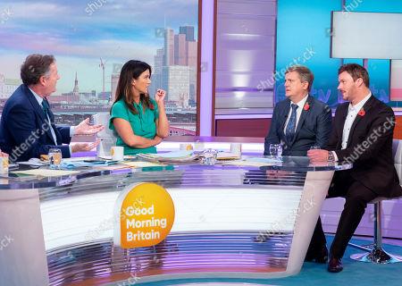 Piers Morgan, Susanna Reid, Aled Jones and Russell Watson