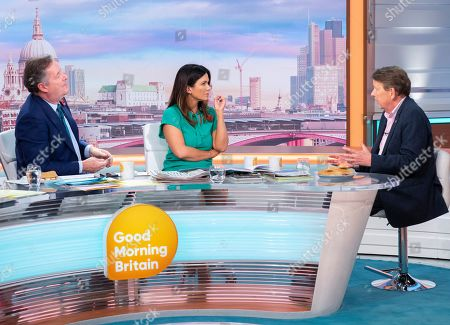 Stock Picture of Piers Morgan, Susanna Reid and Bill Turnbull