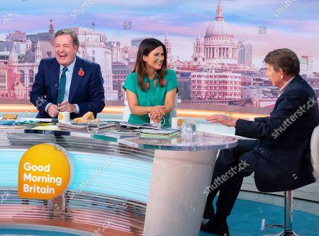 Piers Morgan, Susanna Reid and Bill Turnbull