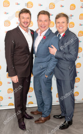 Russell Watson and Aled Jones with Richard Arnold
