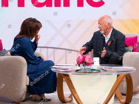 Lorraine Kelly and David Essex