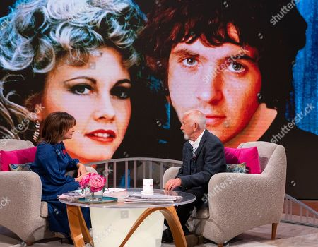 Stock Photo of Lorraine Kelly and David Essex