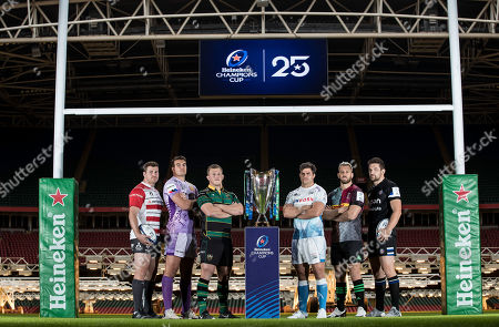 Editorial photo of 2019/2020 Heineken Champions Cup & European Rugby Challenge Cup Launch, Principality Stadium, Cardiff Wales  - 06 Nov 2019